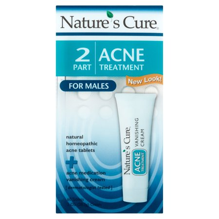 Nature's Cure 2-Part Acne Treatment for Males