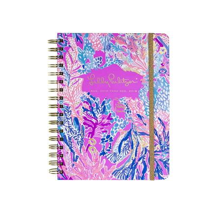 9cdb6d9b9e891b Lilly Pulitzer 17 Month Large Agenda, Personal Planner, 2018-2019 (Gypset) ( Aquadesiac) - Walmart.com