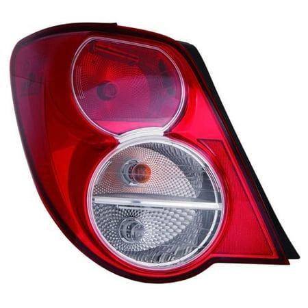 Go-Parts » 2012 - 2016 Chevrolet Sonic Rear Tail Light Lamp Assembly / Lens / Cover - Right (Passenger) Side - (Sedan) 42407873 GM2801251 Replacement For Chevrolet Sonic (Tail Sonic)
