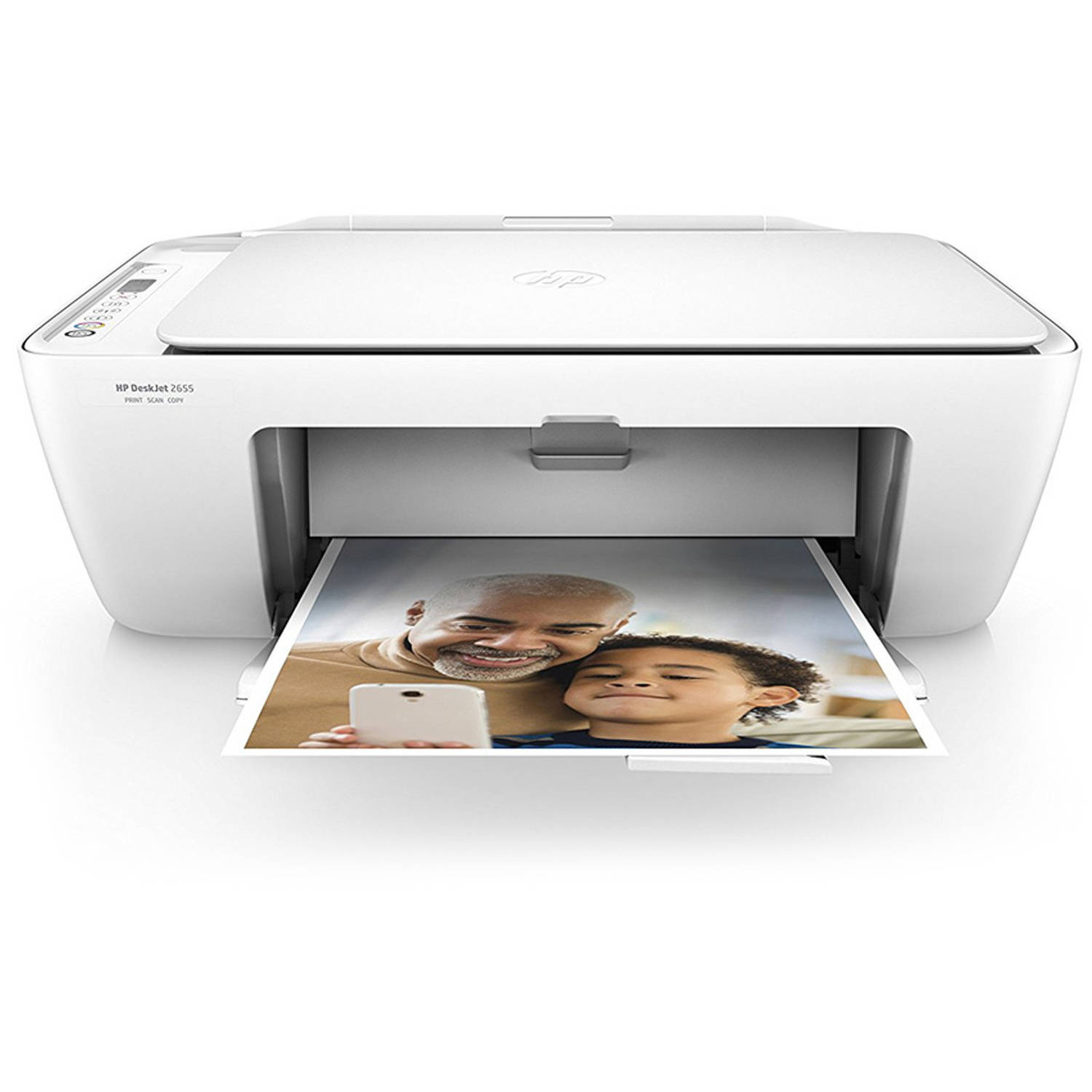 HP DeskJet 2655 All-in-One Printer (Blue)