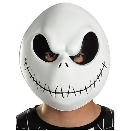 The Nightmare Before Christmas Jack Skellington Adult Vacuform Mask