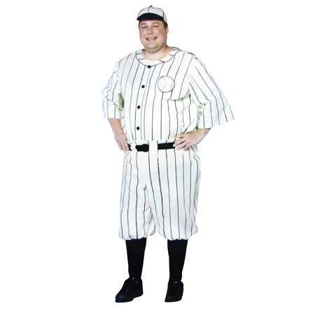 Old Tyme Baseball Player Adult Halloween Costume