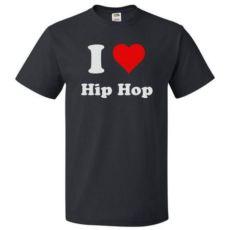 I Love Hip hop T shirt I Heart Hip hop Tee Gift (Meme From Love And Hip Hop New Boyfriend)