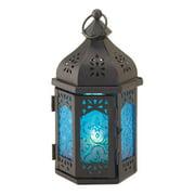 Zingz & Thingz Vivid Tabletop Iron and Glass Lantern