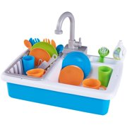 Kitchen Sink Play Set Designed For Ages 3 And