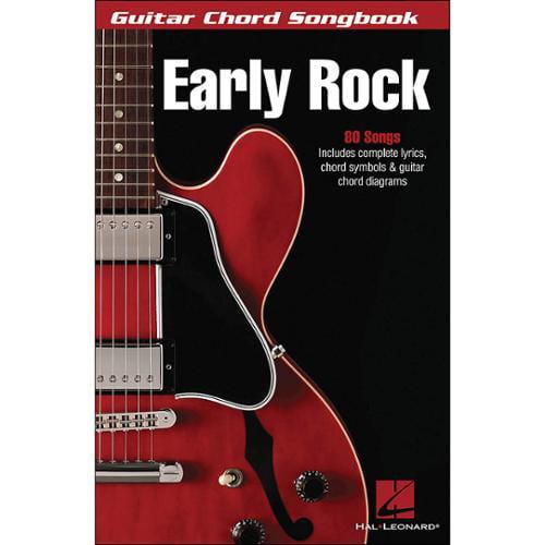 "Hal Leonard Early Rock - Guitar Chord Songbook (6""X9"")"
