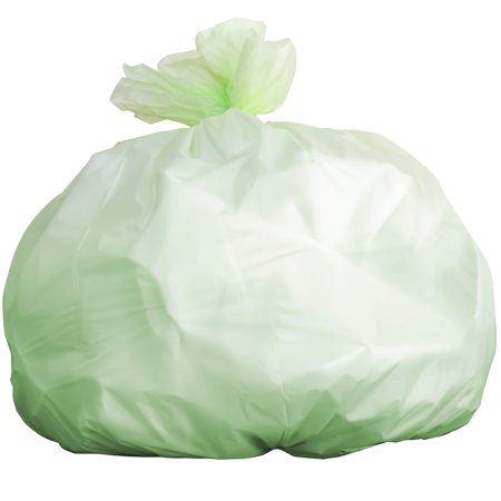 Biodegradable Tall 13 Gallon Garbage Bags 20 Ct. ASTM D6400 and BPI-Certified Compostable Trash Can Liners. Hefty for Kitchen Food Scraps and Compost Bins. Eco-Friendly and Plant-Based for Green