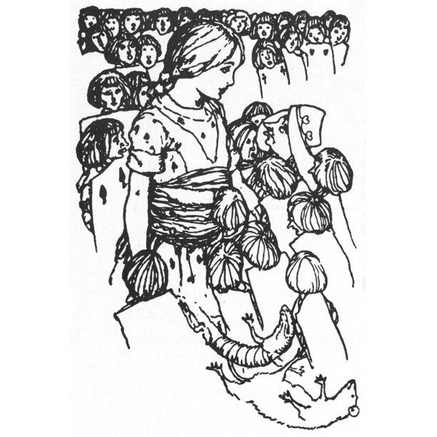 Carroll: Alice, 1915. /Nillustration By A.E. Jackson For