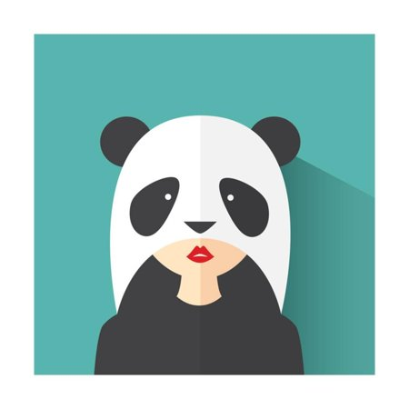 Panda Suits (The Girl in the Panda Suit Print Wall Art By)