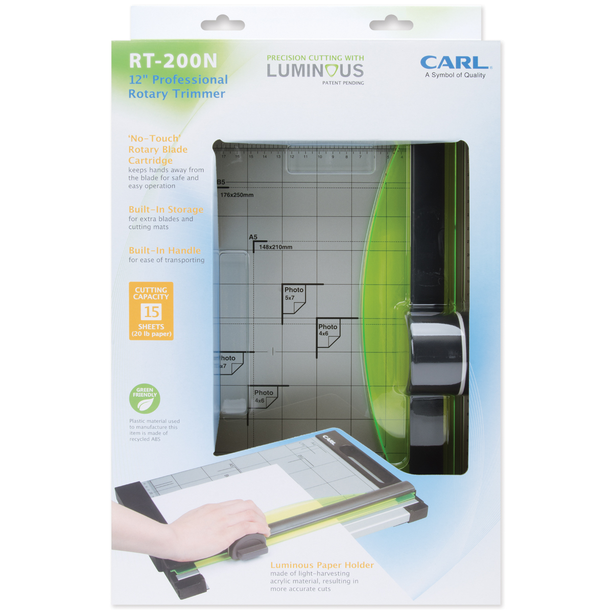 """Carl 12inch Rotary Trimmer All Trimmers Brands Replacement Mat 12/"""""""