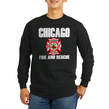 Chicago Fire Tshirts (CafePress - Chicago Fire Department - Long Sleeve Dark)