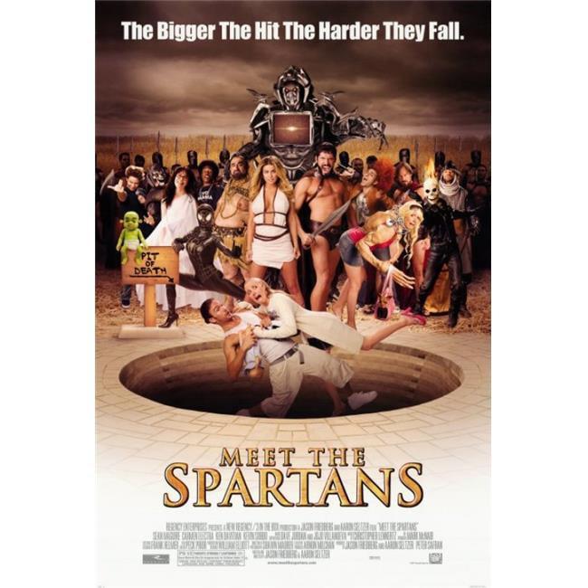 Posterazzi MOVGI9119 Meet the Spartans Movie Poster - 27 x 40 in. - image 1 de 1