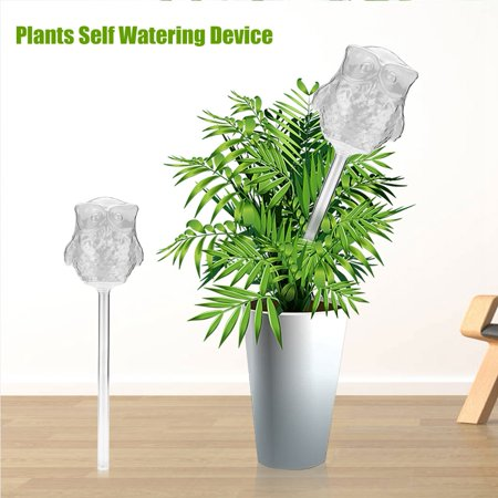 Ashata House Plants Flowers Automatic Self Watering Devices Clear