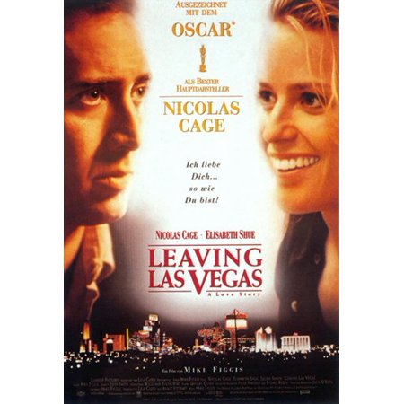 Leaving Las Vegas Movie Poster  11 X 17