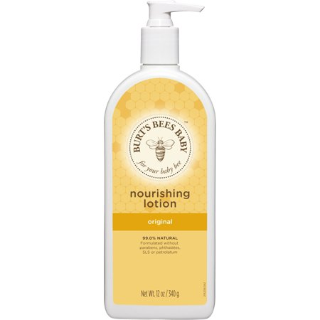 Burt's Bees Baby Nourishing Lotion, Original Scent Baby Lotion - 12 Ounce