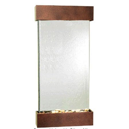 Adagio WCS5040 Whispering Creek - Silver Mirror Wall Fountain