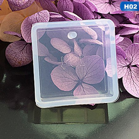 AkoaDa 1pc  Pendant Silicone Mold Resin Liquid Silicone Mould Handmade Tool Epoxy Resin Molds  DIY Intersperse Decorate Making