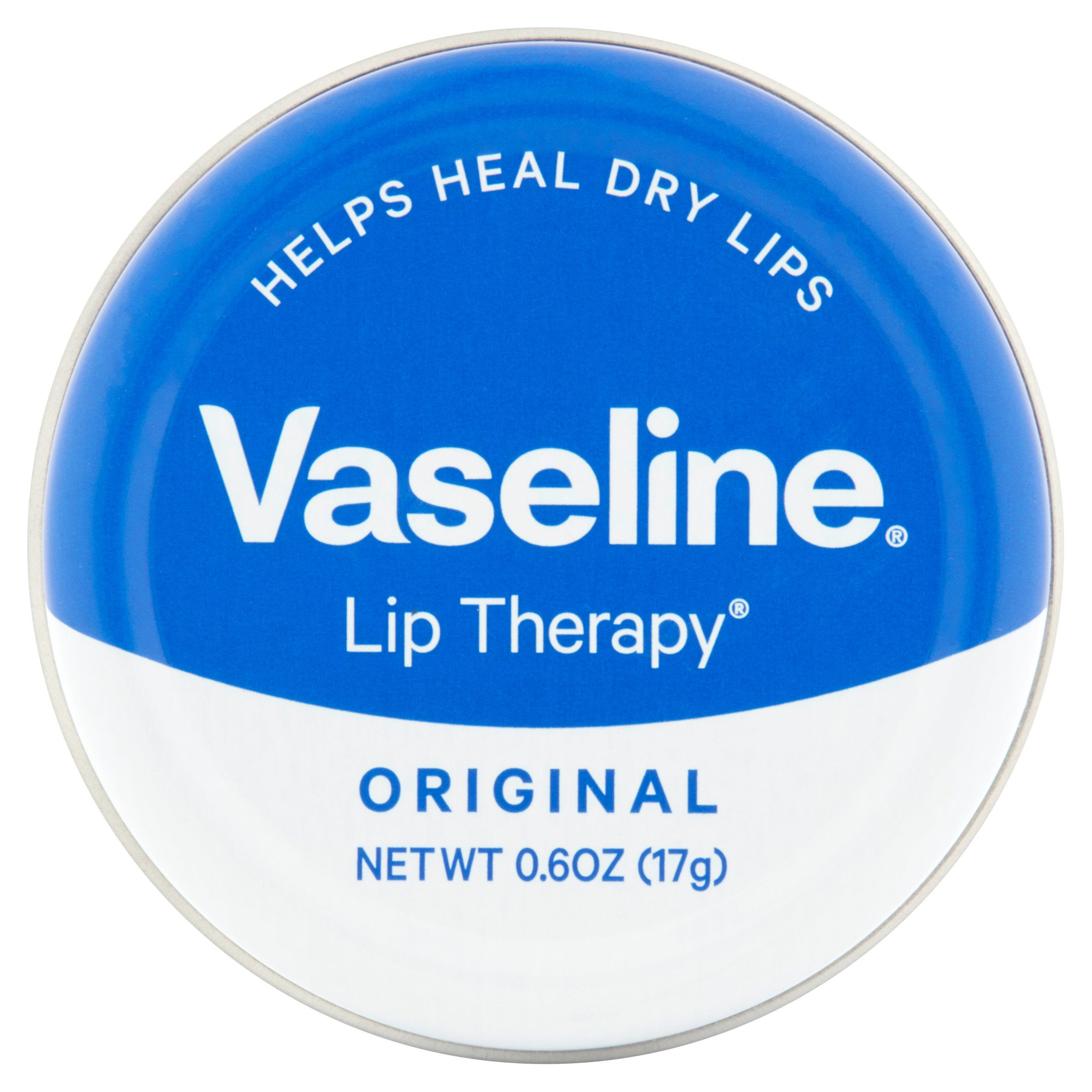 Vaseline Lip Therapy Lip Balm Tin Original 0.6 oz