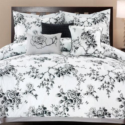 6-Piece Rose Hill Cotton Comforter Set