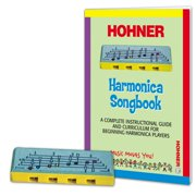 PL-106 Musical Toys Play and Learn Harmonica, Includes complete instruction guide to learn how to play songs on the specially designed 4-hole harmonica By Hohner Kids