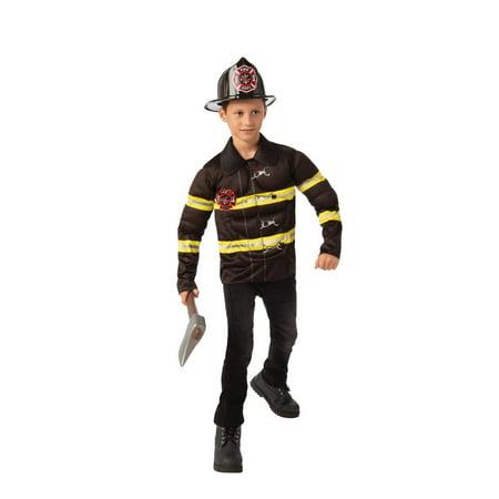 Halloween Fireman Child Costume