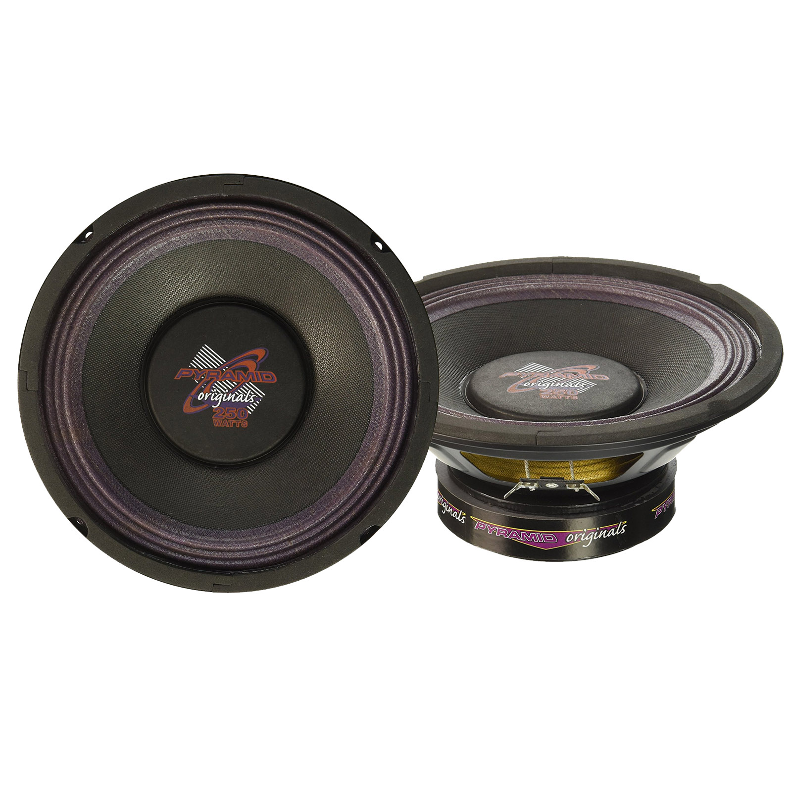 "Pyramid 8"" 250 Watt High Power Paper Cone 8 Ohm Subwoofer"