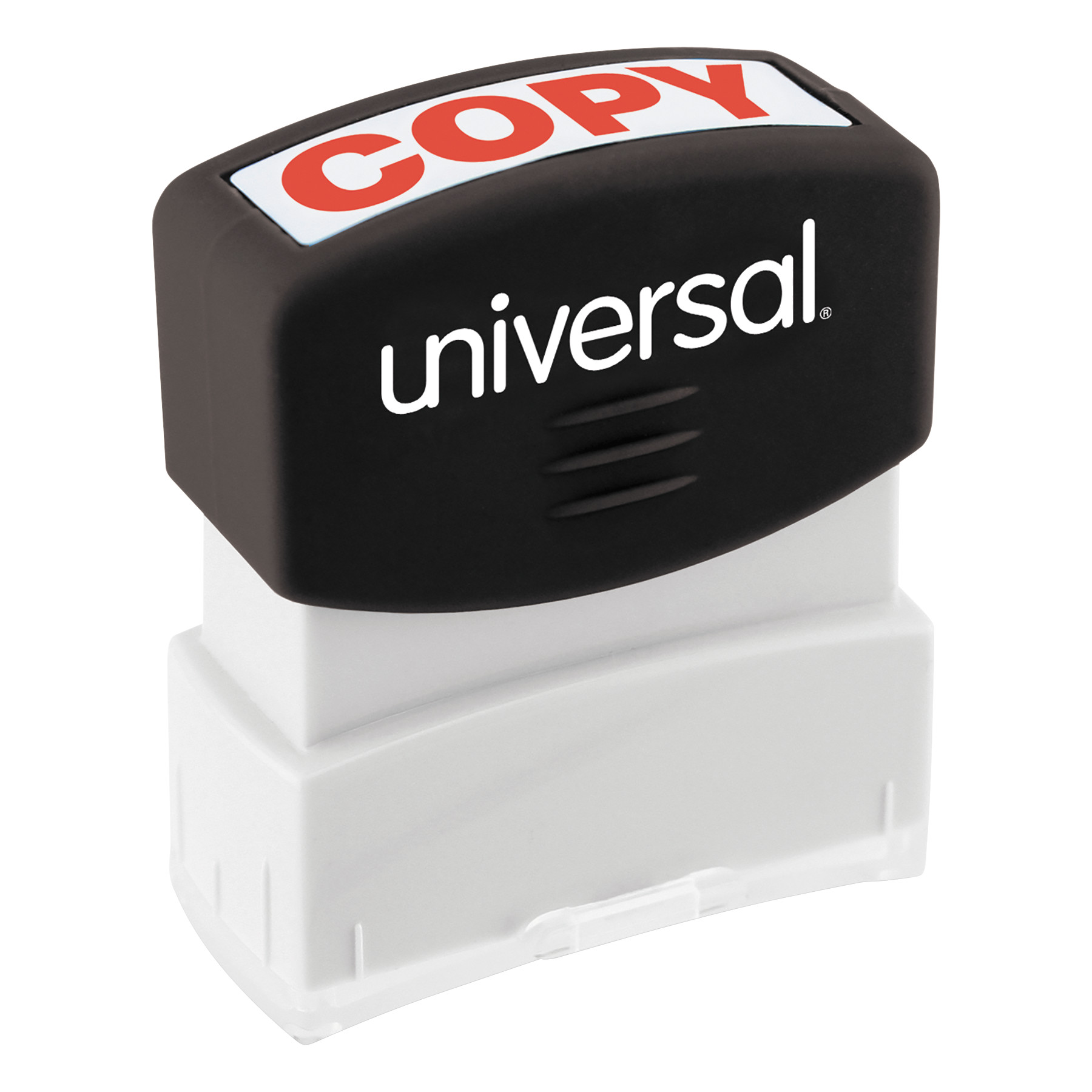 Universal Message Stamp, COPY, Pre-Inked One-Color, Red