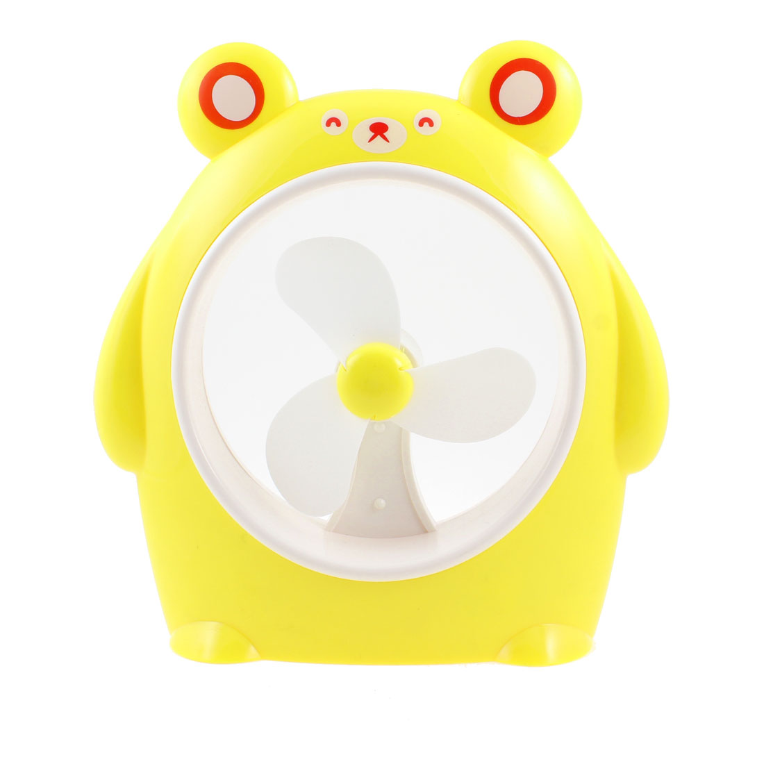 Cartoon Pig Designed USB Battery Powered Personal  Fan PC Laptop