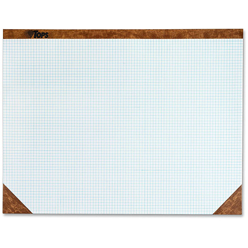 Tops Quadrille Ruled Paper Desk Pads - Walmart.com