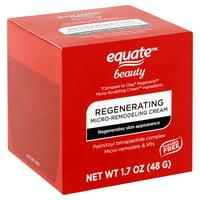 Equate Beauty Regenerating Micro-Remodeling Cream, 1.7 oz