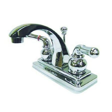 Kingston Brass KS4641NML deux manettes 4. Robinet de lavabo Centerset avec Brass Pop-up - image 1 de 2