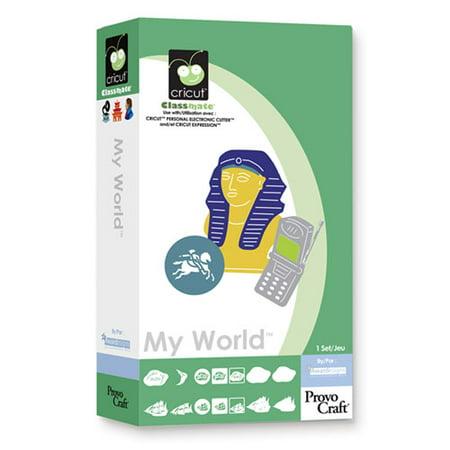 Cricut Cartridge, My World ()
