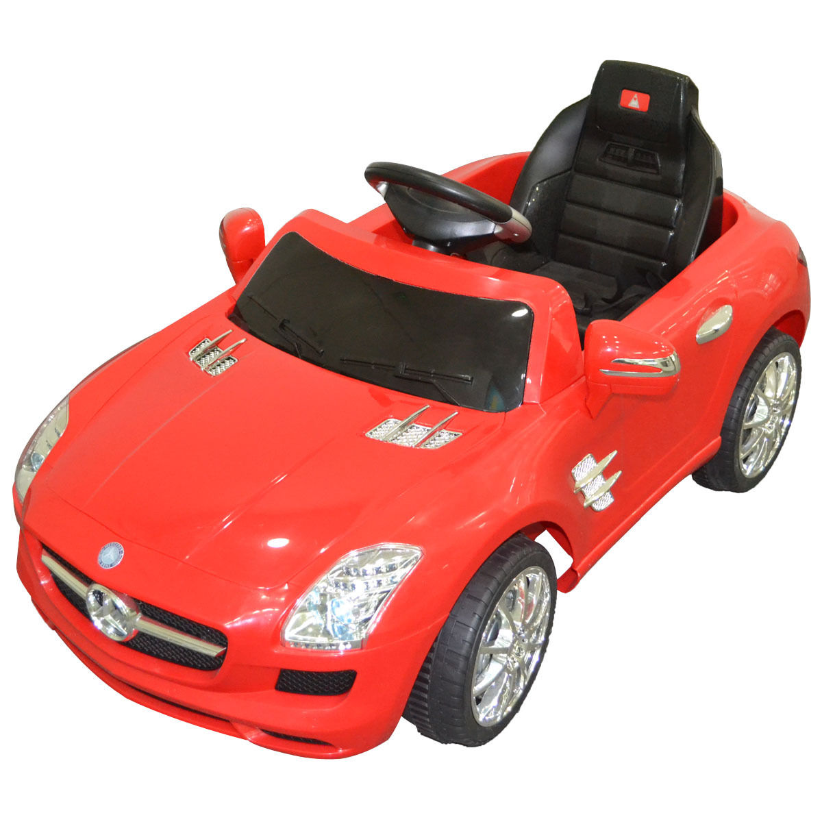 Costway Mercedes Benz Sls R C Mp3 Kids Ride On Car Electric Battery Toy Red Black