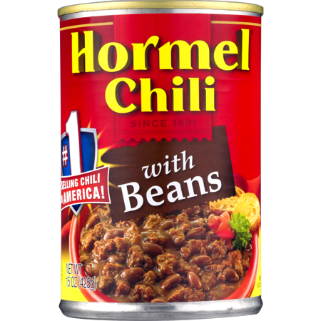 - (4 Pack) Hormel Chili With Beans, 15 Oz
