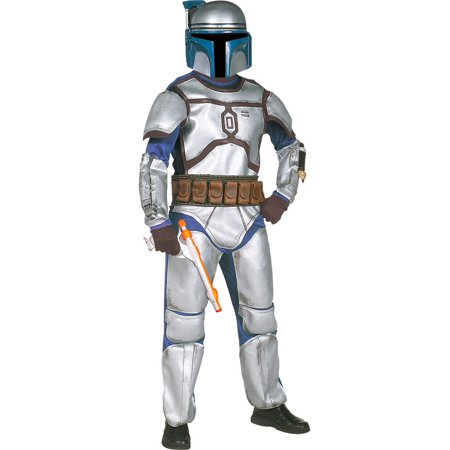 Boba Fett Deluxe Child Costume (Kids Deluxe Jango Fett Star Wars)