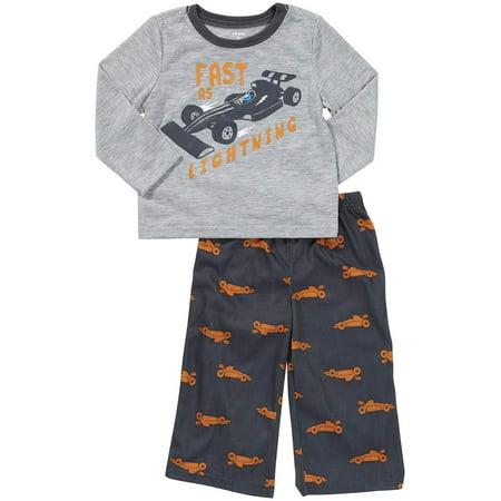Carter's Baby Boys' 2-Pc L/S PJ Set - Race Car - 12 Months