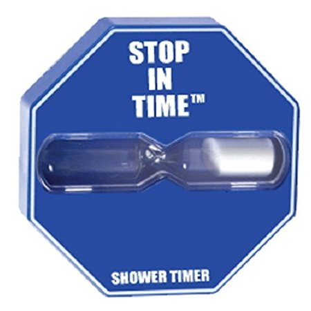 stop in time shower timer by niagara 5 minute timer walmart com