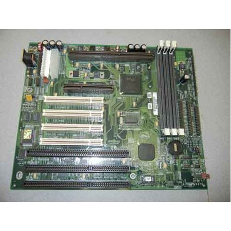 Refurbished-Micronics09-00338-03Baby AT Slot 1 motherboard, 3 ISA 1 AGP 4 PCI 3 DIMM slots, Intel chipset 443LX, Motherboard only. No cables or manuals.