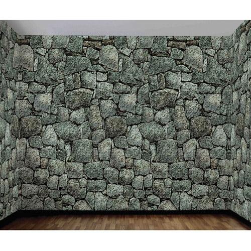 20' x 4' Stone Wall Roll Halloween Accessory