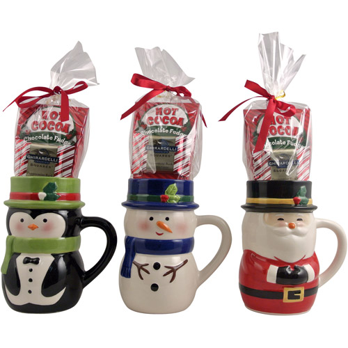 Top Hat Character Mugs Gift Set (Design will vary)
