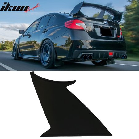 1PC Fits 15-19 Subaru WRX STI ABS Trunk Spoiler Wing Stabilizer Support Add