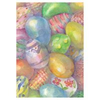 Toland Home Garden Easter Eggs Flag