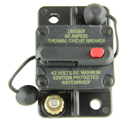 Bussmann CB185-60 Surface-Mount Circuit Breakers, 60 Amps (1 per