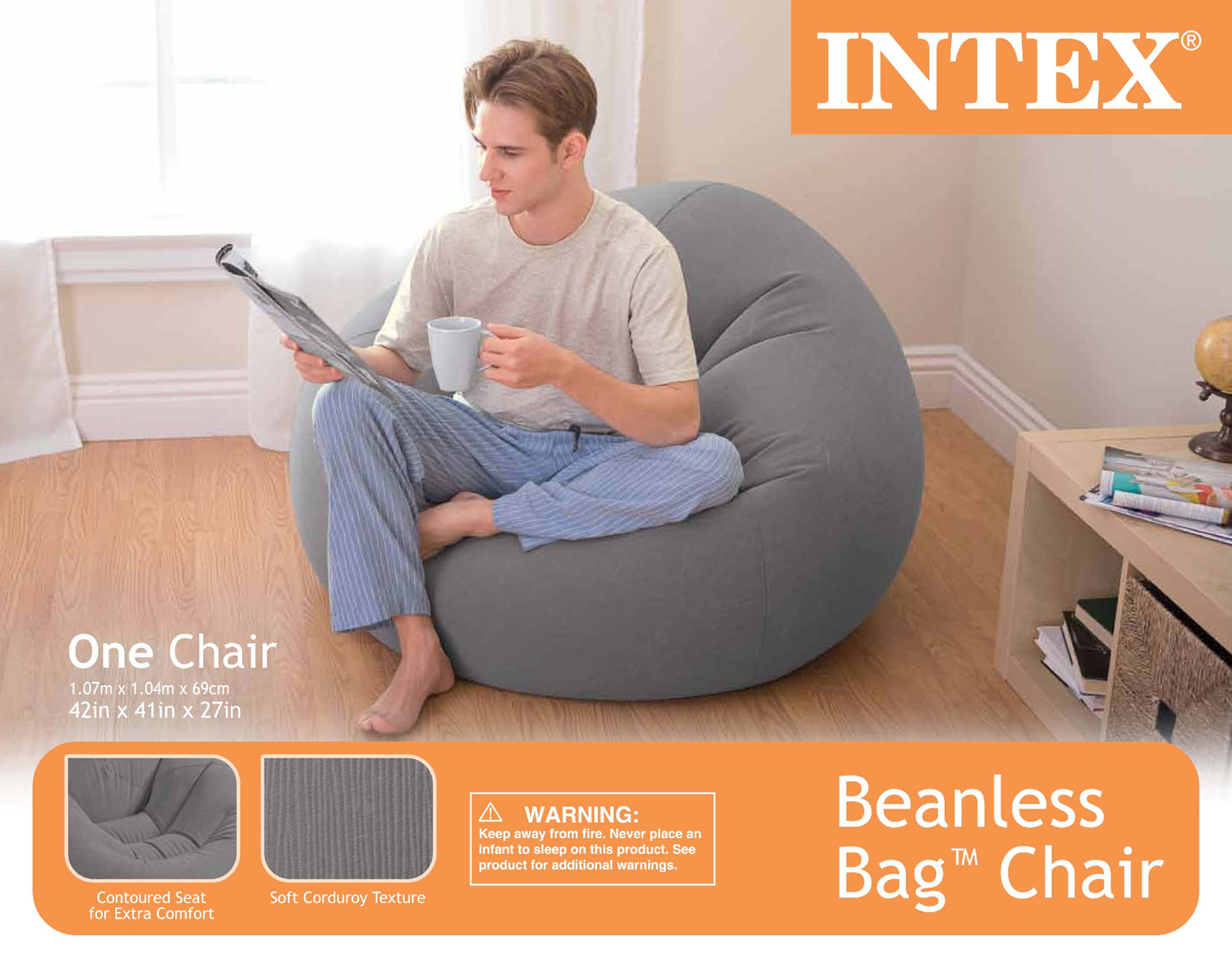 Fantastic Intex Beanless Bag Chair Walmart Com Squirreltailoven Fun Painted Chair Ideas Images Squirreltailovenorg