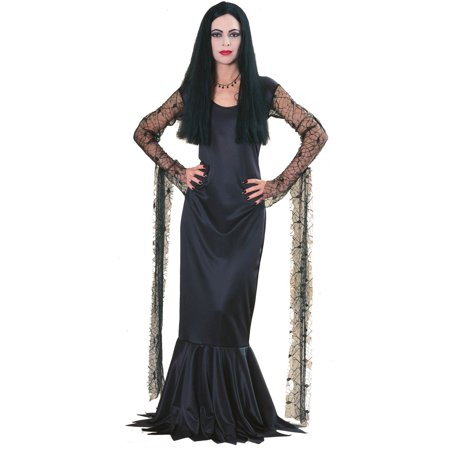 Addams Family Morticia Adult Costume - Wednesday Adams Family Costume