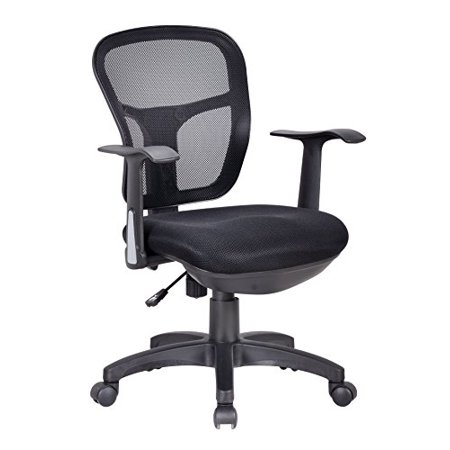 Astounding Office Factor Ergonomic Black Mesh Desk Chair Lumbar Support Extra Cushion On The Seat Fixed Arms Swivel Tilt Mechanism Of 137 Ocoug Best Dining Table And Chair Ideas Images Ocougorg