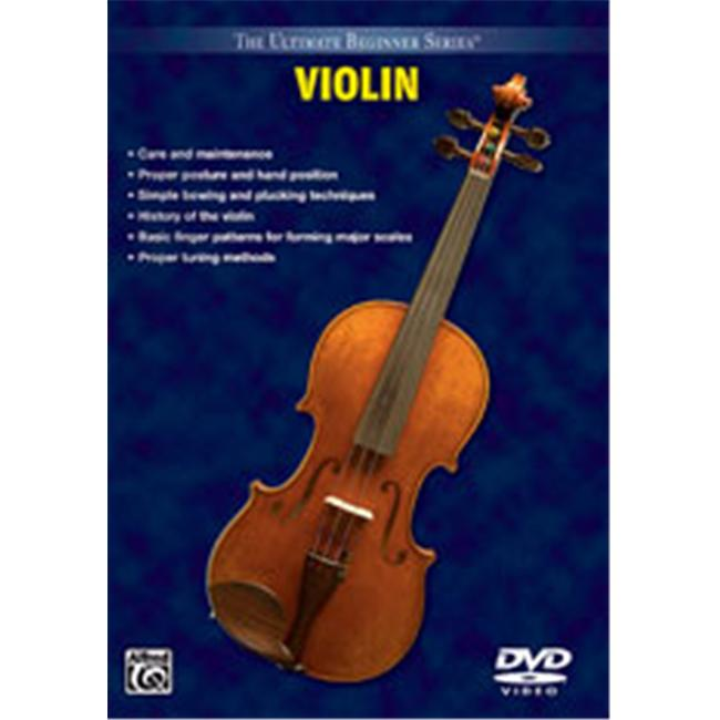 Alfred 00-903372 Ultimate Beginner Series- Violin - Music Book - image 1 of 1