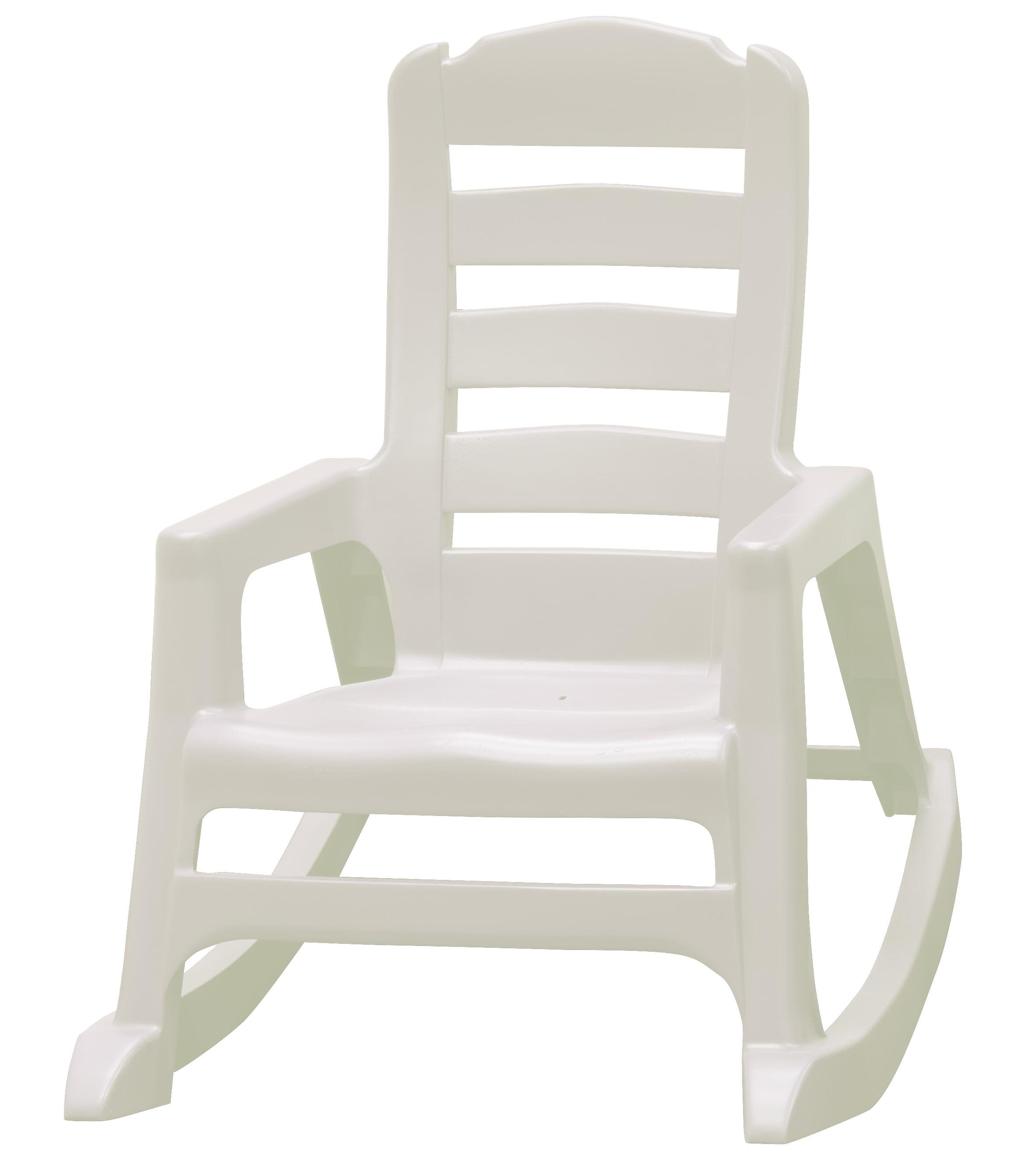 Adams Adirondack Kids Lil Easy Rocking Chair White