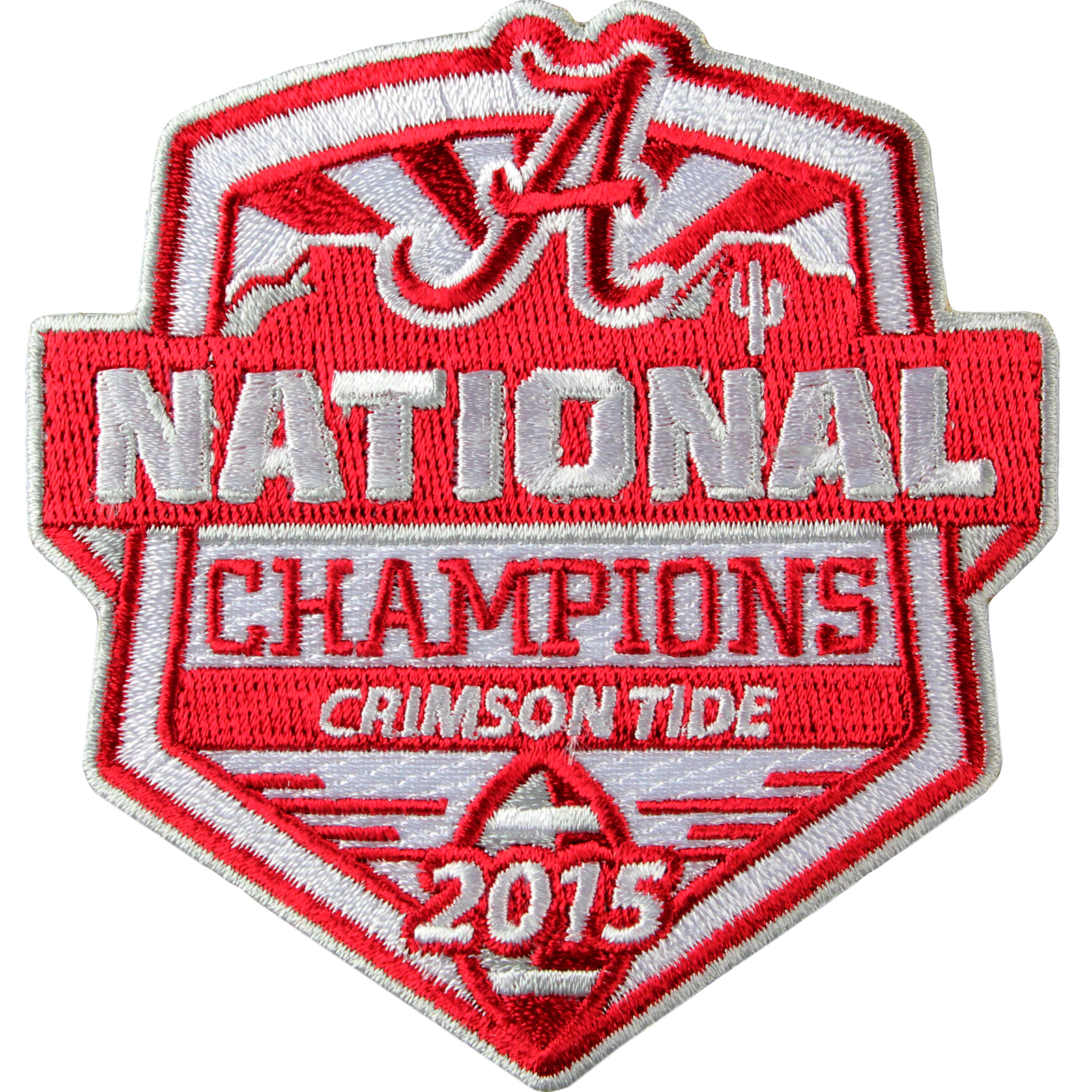 2015 Alabama Crimson Tide 2016 College National Champions Game Jersey Patch NCAA