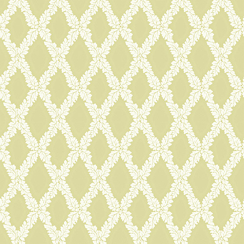 Blue Mountain Small Trellis Wallcovering, Sage Green